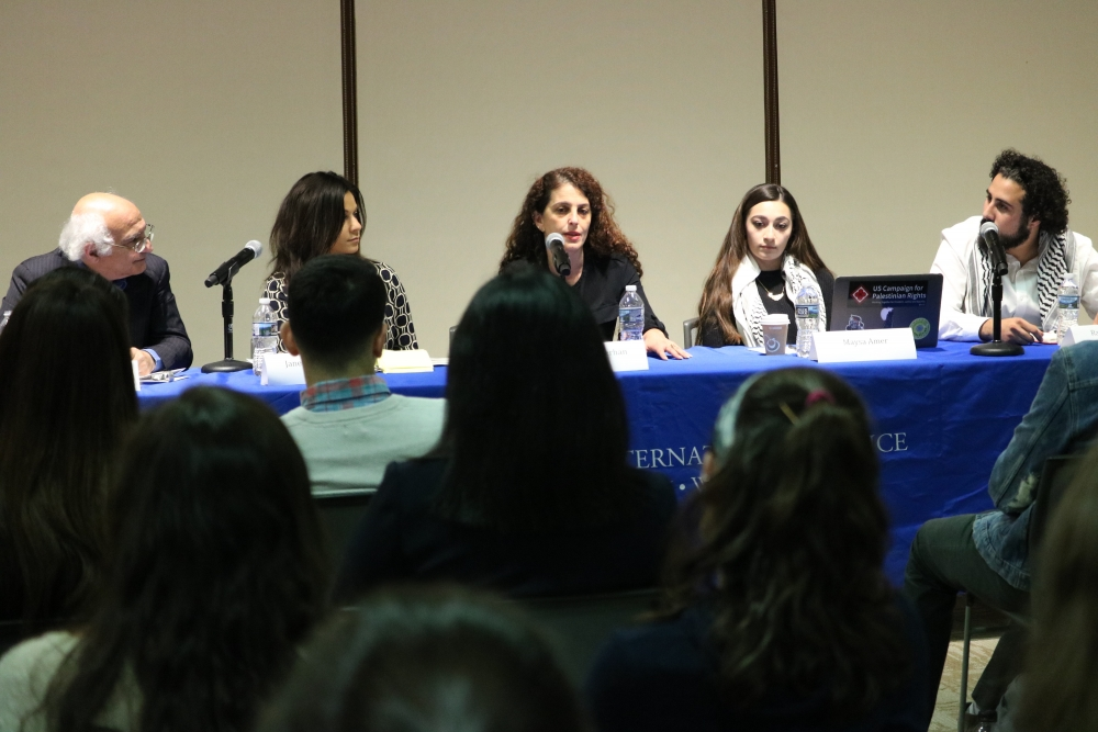 Students, experts share stories of Palestinian refugees