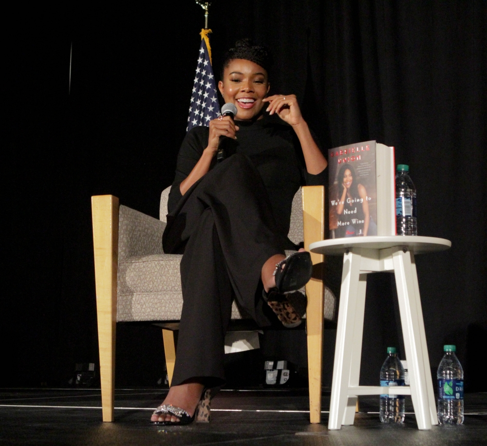 Gabrielle Union talks mental health, supporting survivors at All-American Weekend event