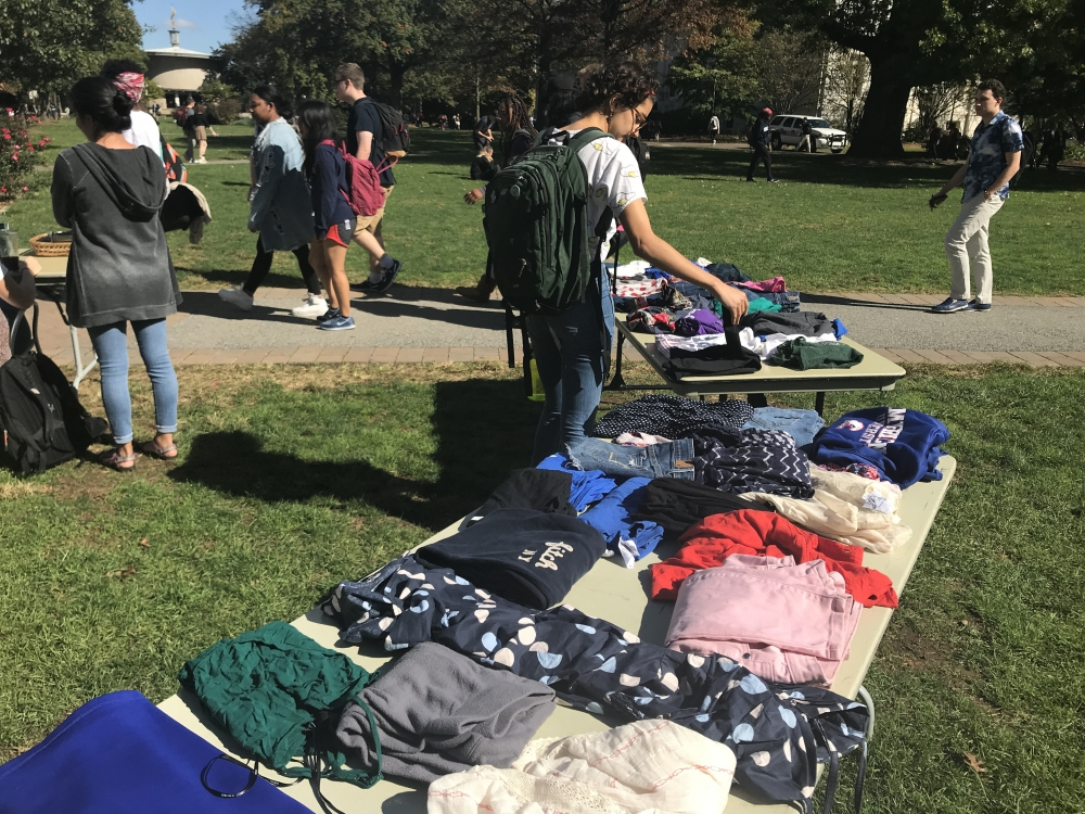 Women's Initiative and Zero Waste host pop-up thrift shop