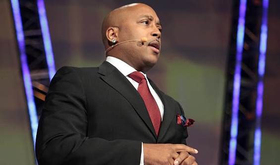 Entrepreneur Daymond John speaks at first American Dreams Academy Summit