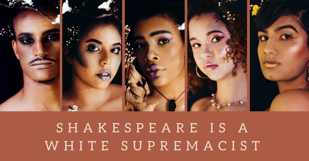 Preview: Rude Mechanicals' 'Shakespeare Is A White Supremacist' takes original, racial twist on the Bard