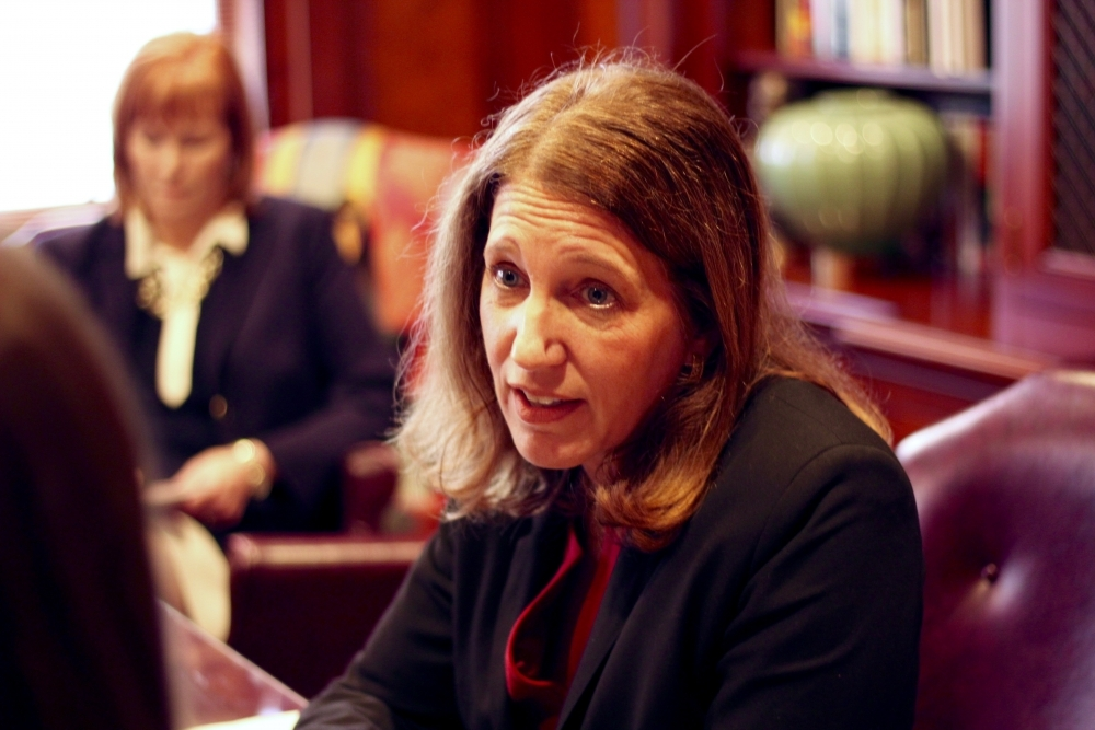 Burwell addresses anti-immigrant flyers found at AU Monday