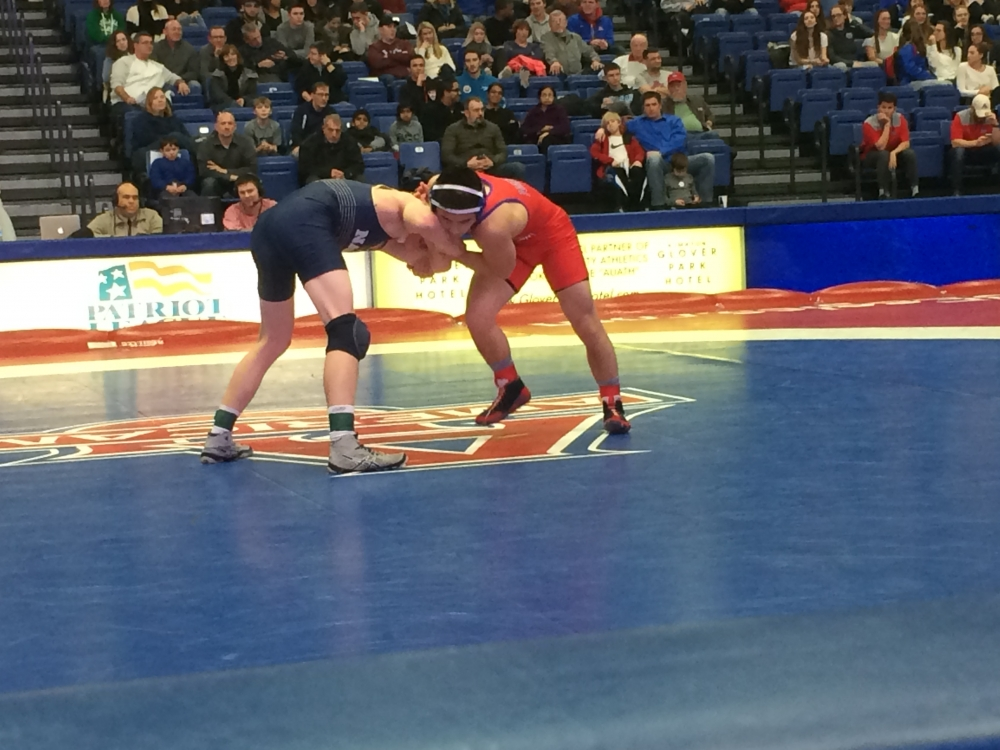 Wrestling secures 32-11 victory over Bucknell