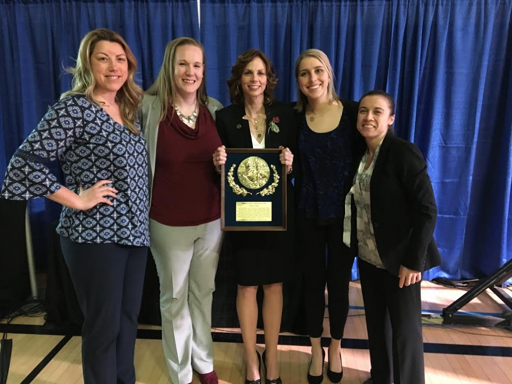 Megan Gebbia inducted into Frederick County Sports Hall of Fame