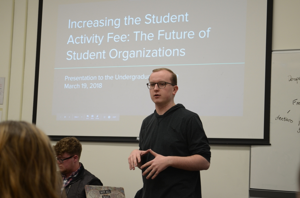 Senate votes to hold referendum on student activity fee increase in spring election