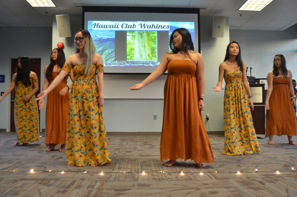 AU Hawaii Club shares culture through 10th annual luau