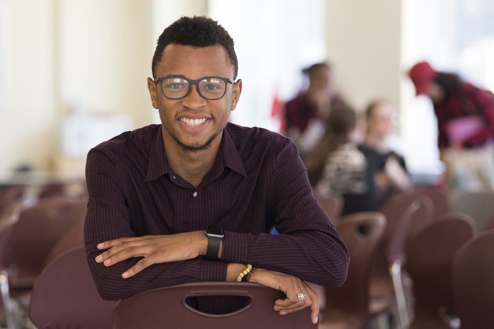 How Tamir Harper is already making his mark on the public education system