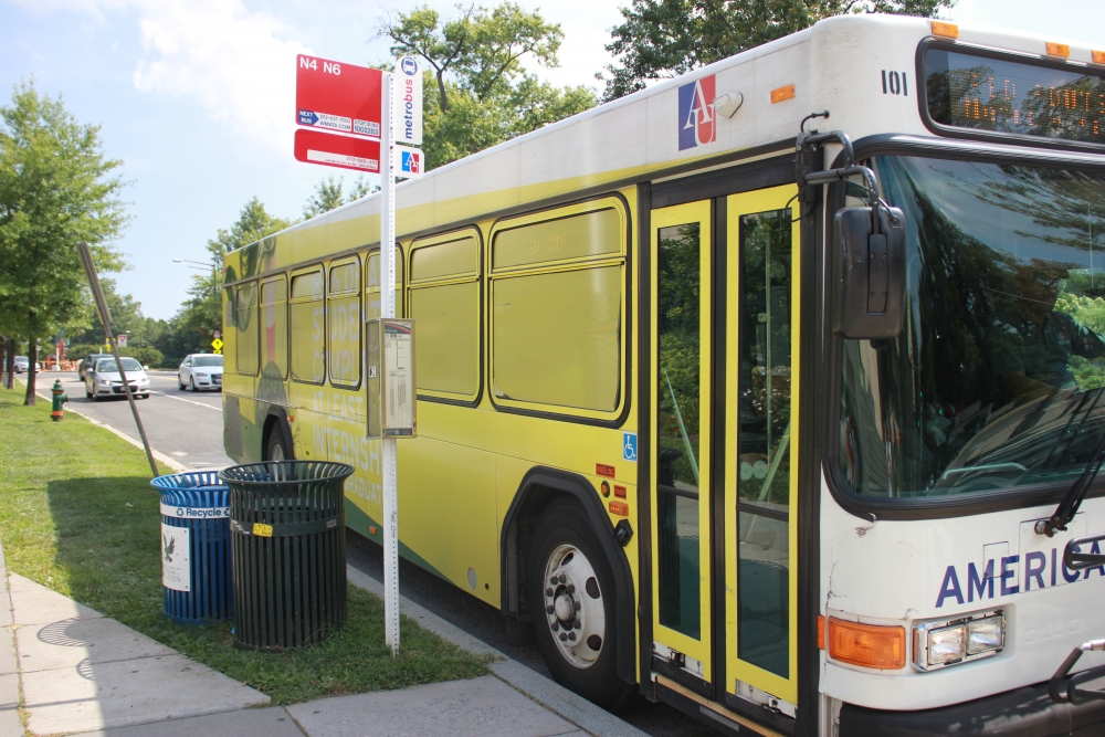 AU adds new shuttle route between Spring Valley Building and main campus
