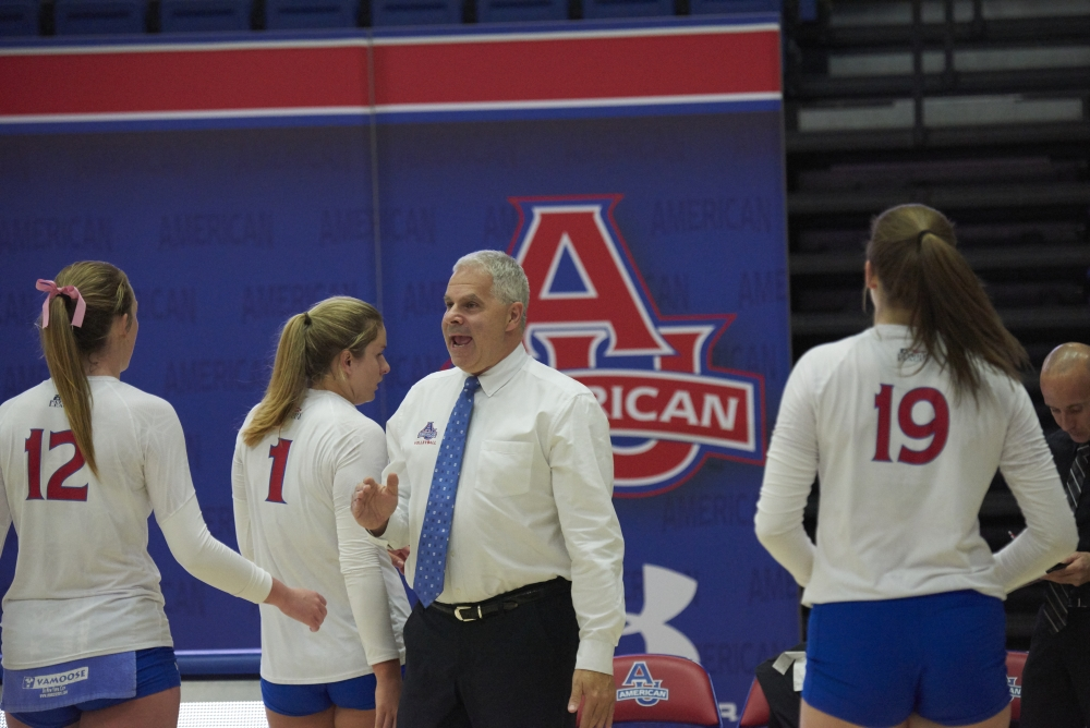 AU volleyball loses to Navy in Patriot League championship