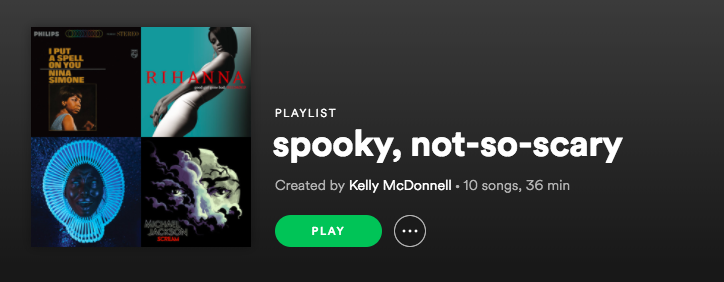 A spooky, not-so-scary Halloween playlist for 2018