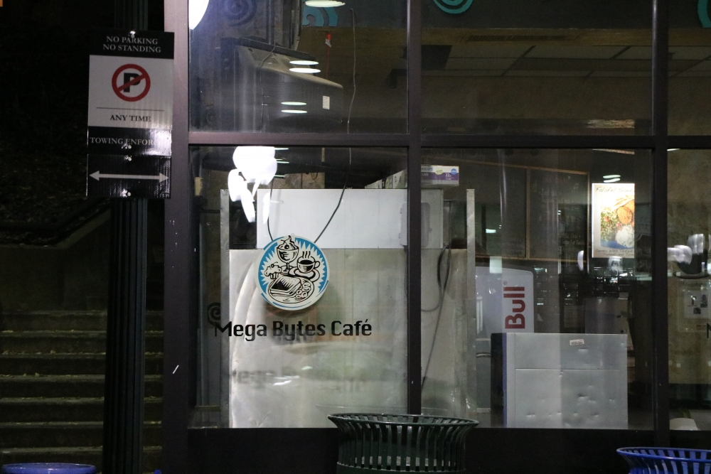 Megabytes Cafe will remain closed for 'foreseeable future,' says AU spokesperson