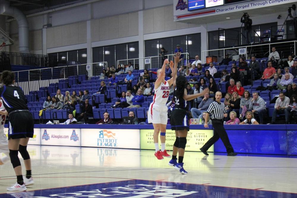 AU women's basketball dominates UMBC at home