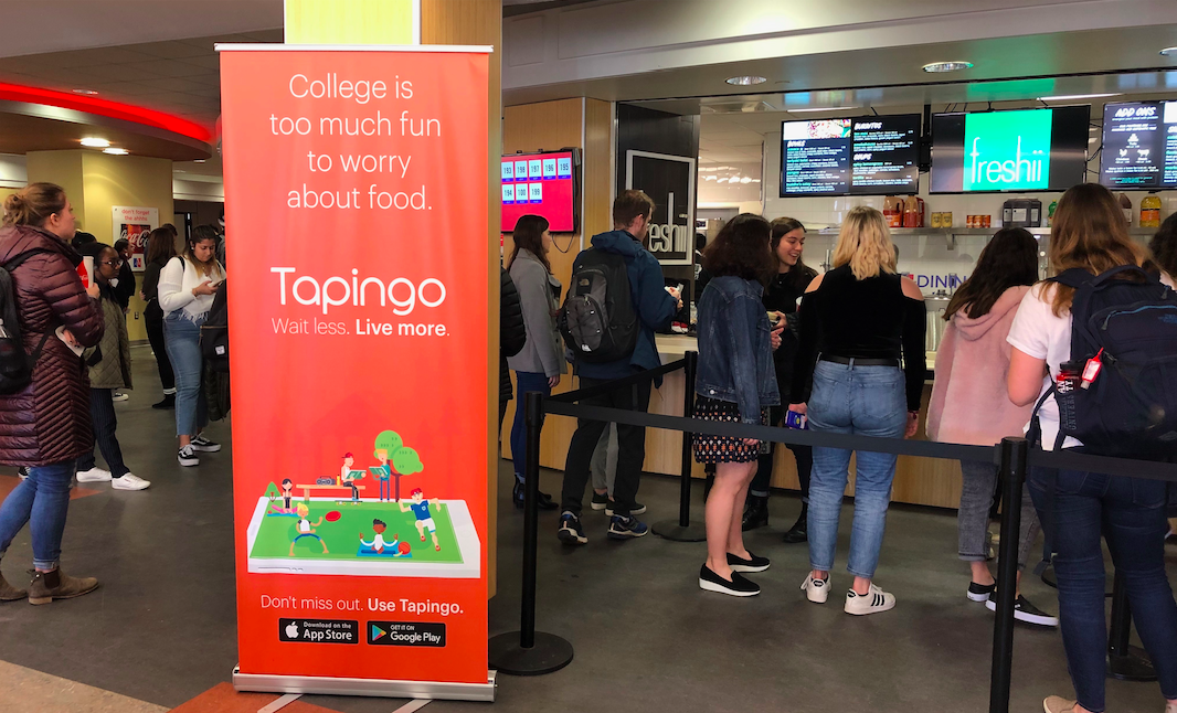 Tapingo offers AU students the chance to skip lines and save time