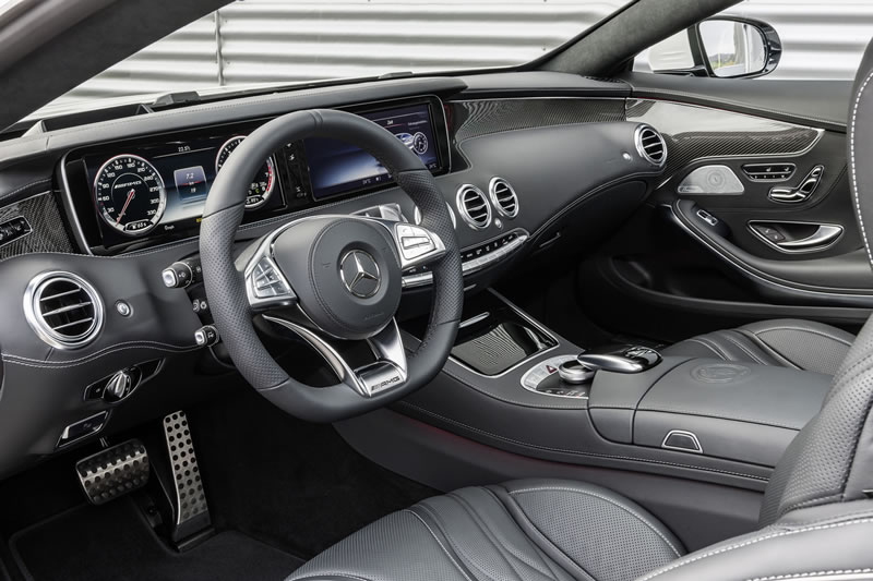 2015 S63 AMG Coupe Facts