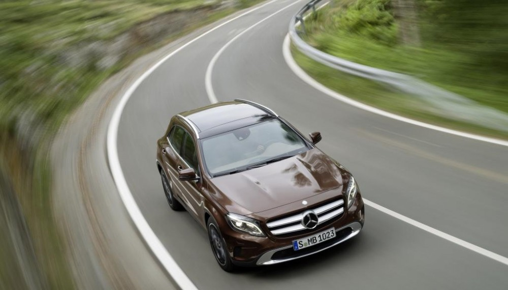 GLA 220 CDI 4MATIC, Orient Brown metallic, Urban line, Exclusive package, Nut Brown leather