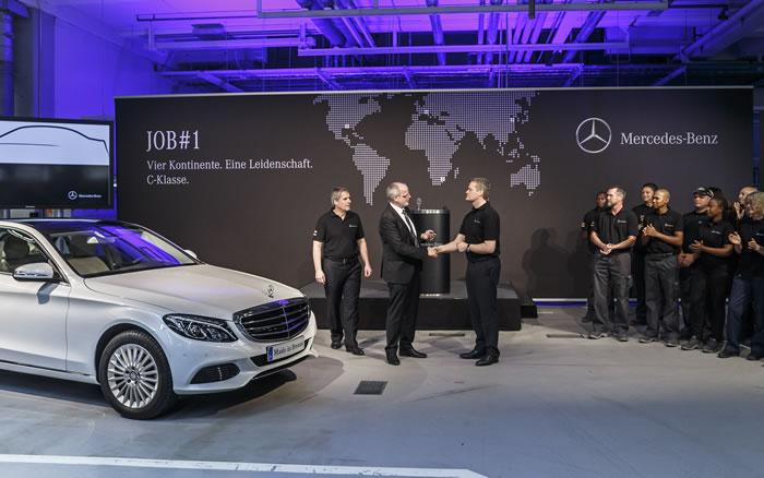 New Mercedes-Benz C-Class Production Begins