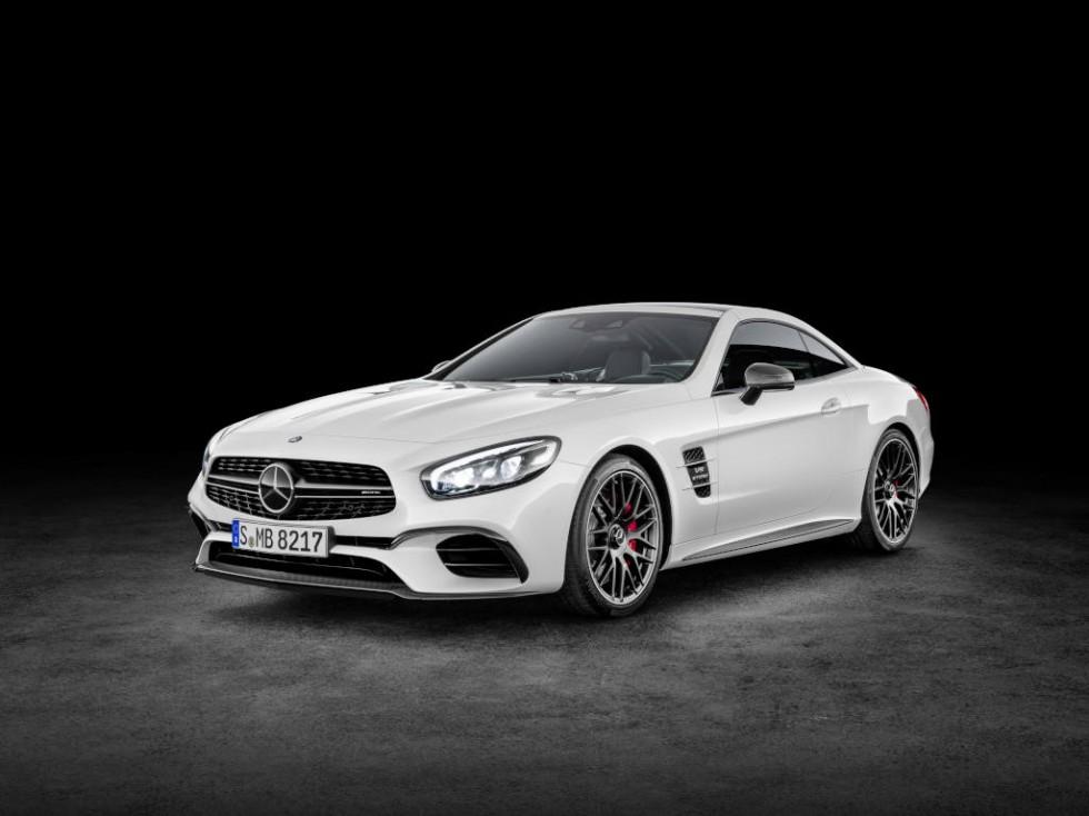 Mercedes-AMG SL 63, diamond white