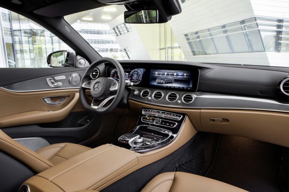 The New 2017 Mercedes-Benz E-Class Interior