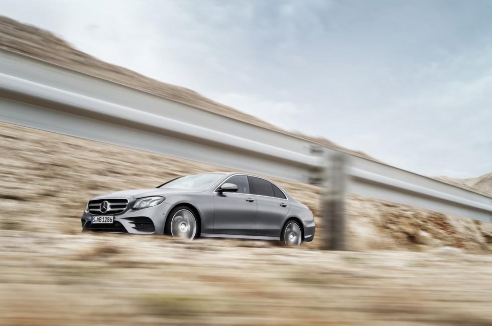 The New 2017 Mercedes-Benz E-Class