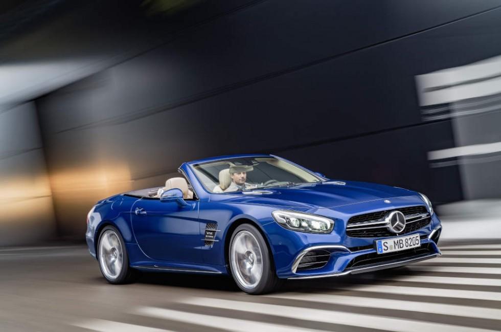 Mercedes-AMG SL 65, brilliant blue