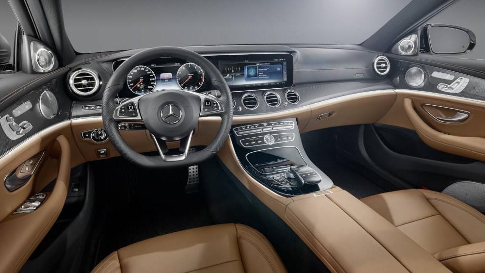 The new E-Class – Design Insight: interior