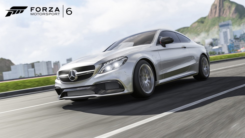 """Mercedes-AMG C 63 S Coupé featured in the racing simulation game """"Forza Motorsport 6"""""""