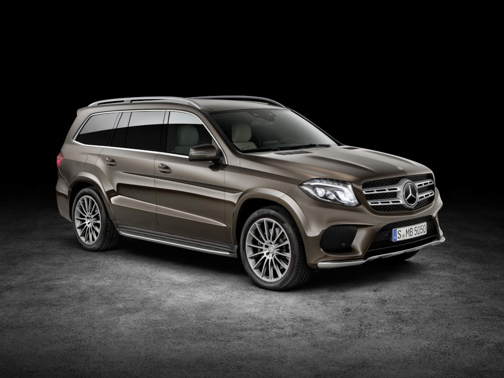 first official photos and details of the all new mercedes benz gls