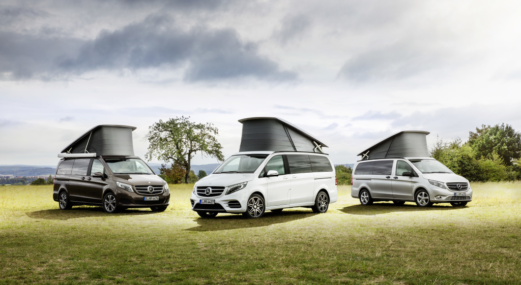 Mercedes-Benz Vans adds another member to its family of compact camper vans and recreational vehicles: the new Marco Polo HORIZON
