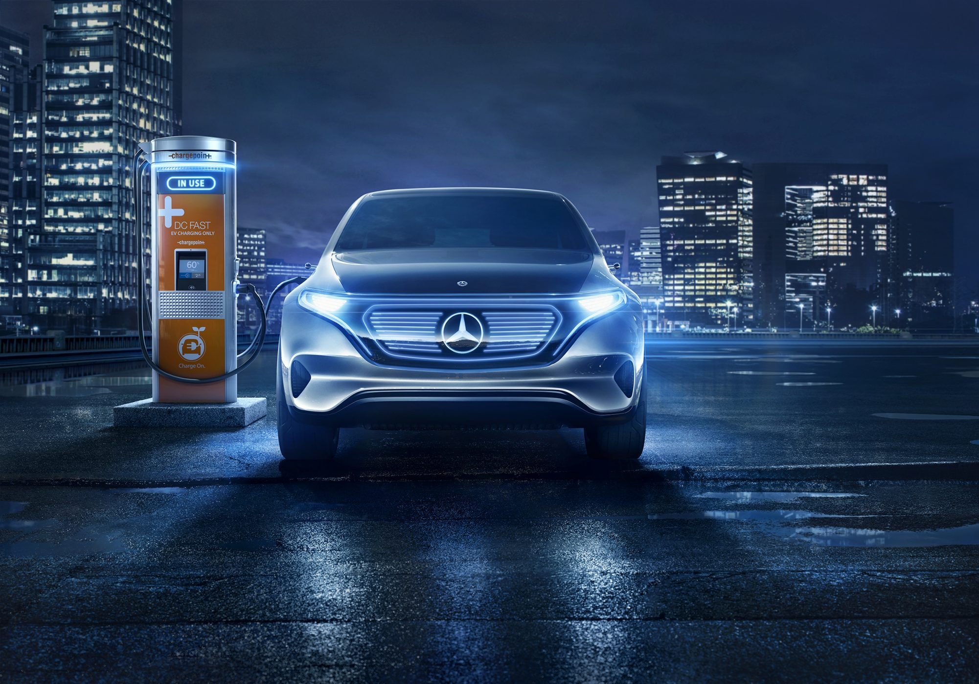 Daimler Invests in ChargePoint to Promote Breakthrough in Electric Mobility