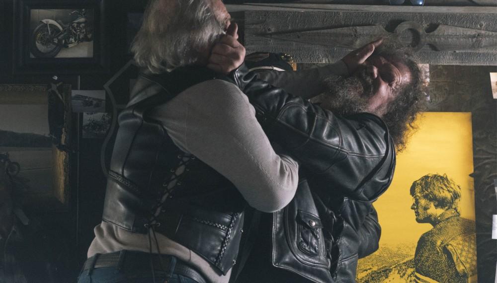 """`Eindrücke des Films """"Easy Driver"""" der Oscar Gewinner Joel and Ethan Coen für das amerikanische Football-Finale, mit Peter Fonda und dem neuen Mercedes-AMG GT Roadster. ;"""