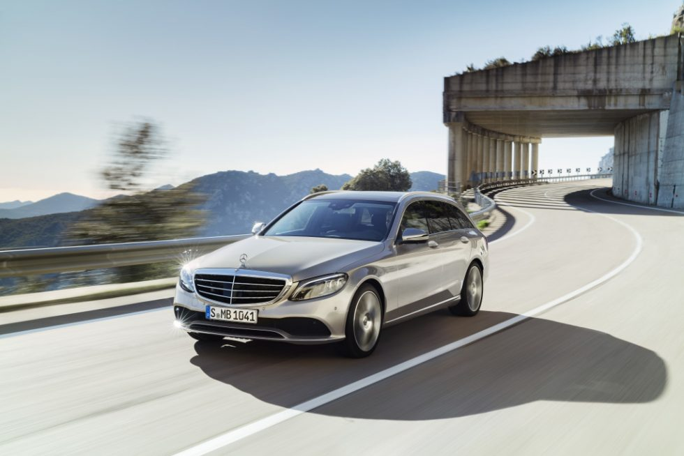 Mercedes-Benz C-Class Estate Exclusive, exterior: mojave silver, interior: leather magma/espresso