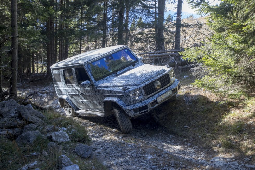 The new Mercedes-Benz G-Class