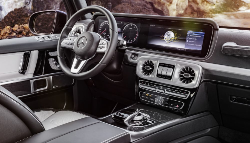 The new Mercedes-Benz G-Class : Design