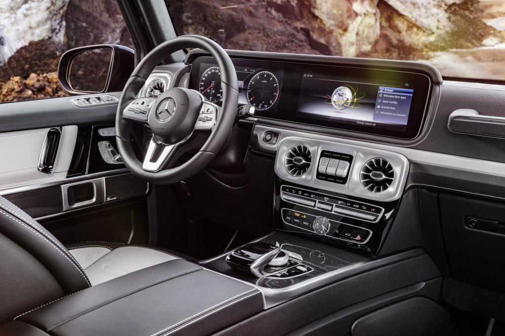 The new Mercedes-Benz G-Class : Design