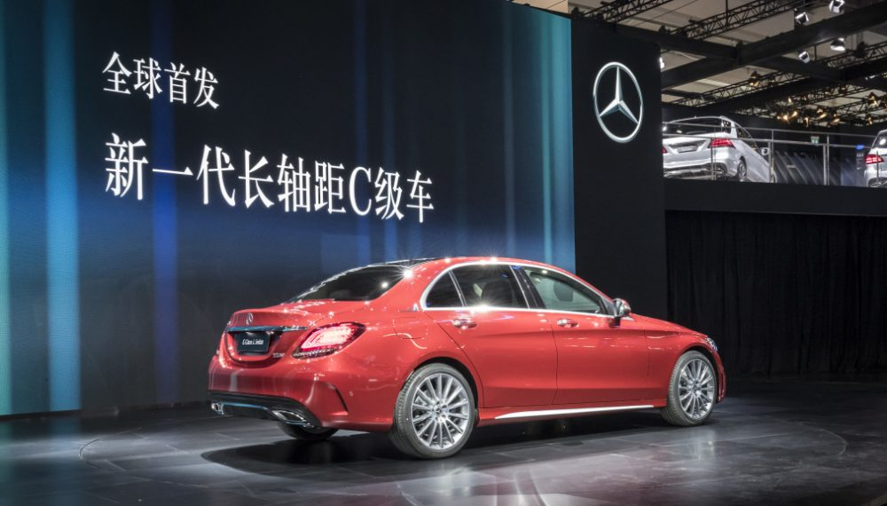 The new C-Class L Sedan