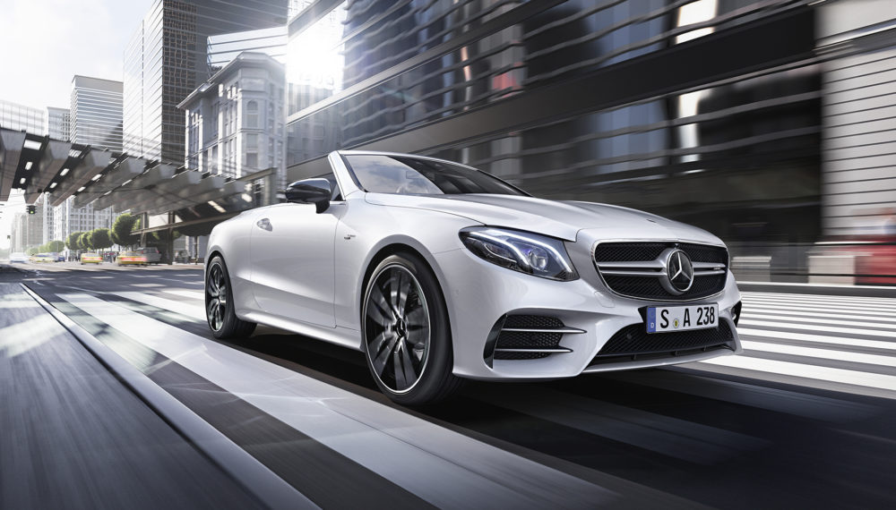 The campaign for the new Mercedes-AMG 53 series models
