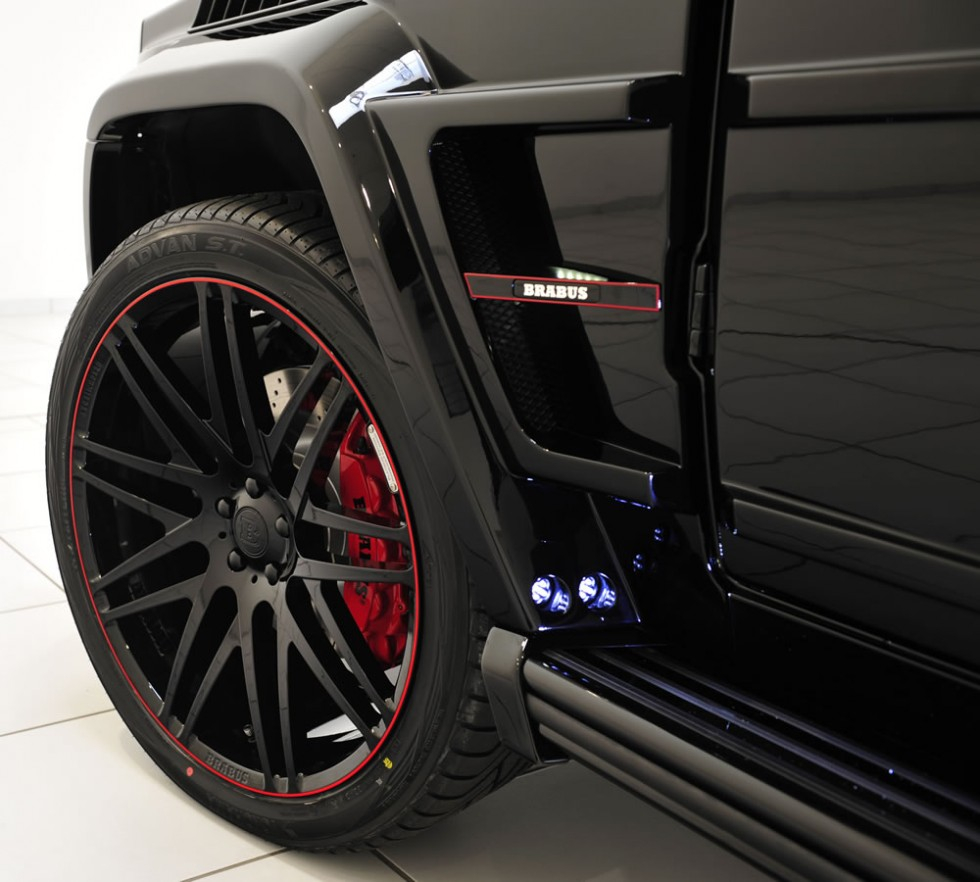 see the limitless brabus 800 ibusiness based on the mercedes g65 amg