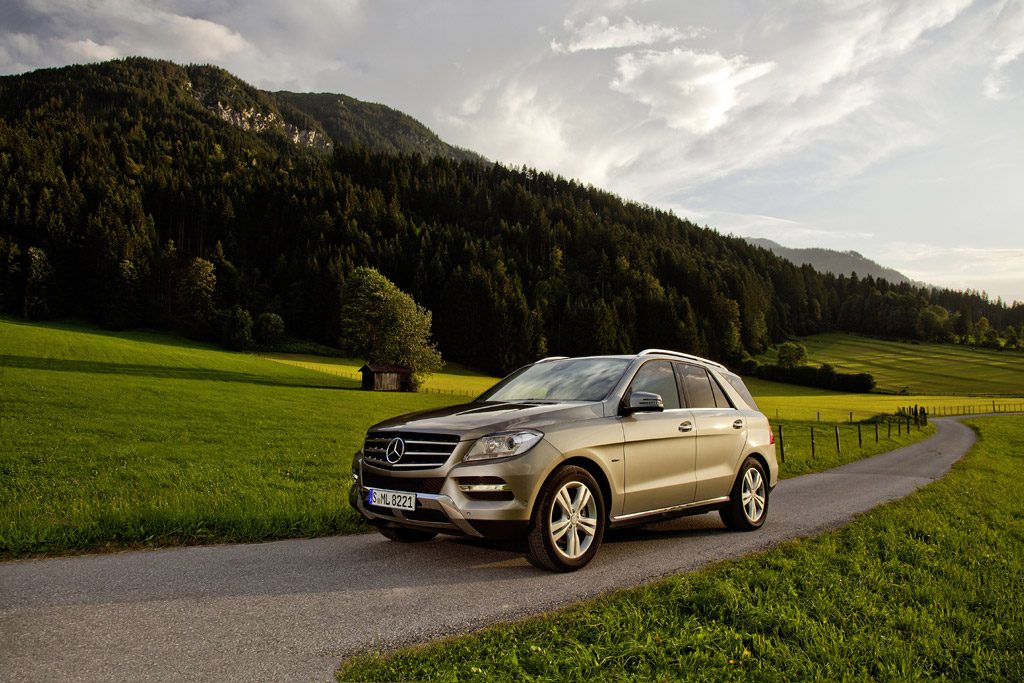 2013 Mercedes ML500 4MATIC BlueEFFICIENCY Made Public