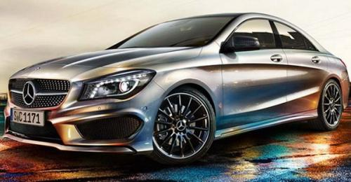 Official Photos of the CLA-Class Ahead of Detroit