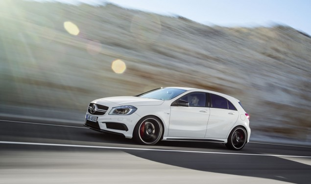 2014 Mercedes A45 AMG hatchback