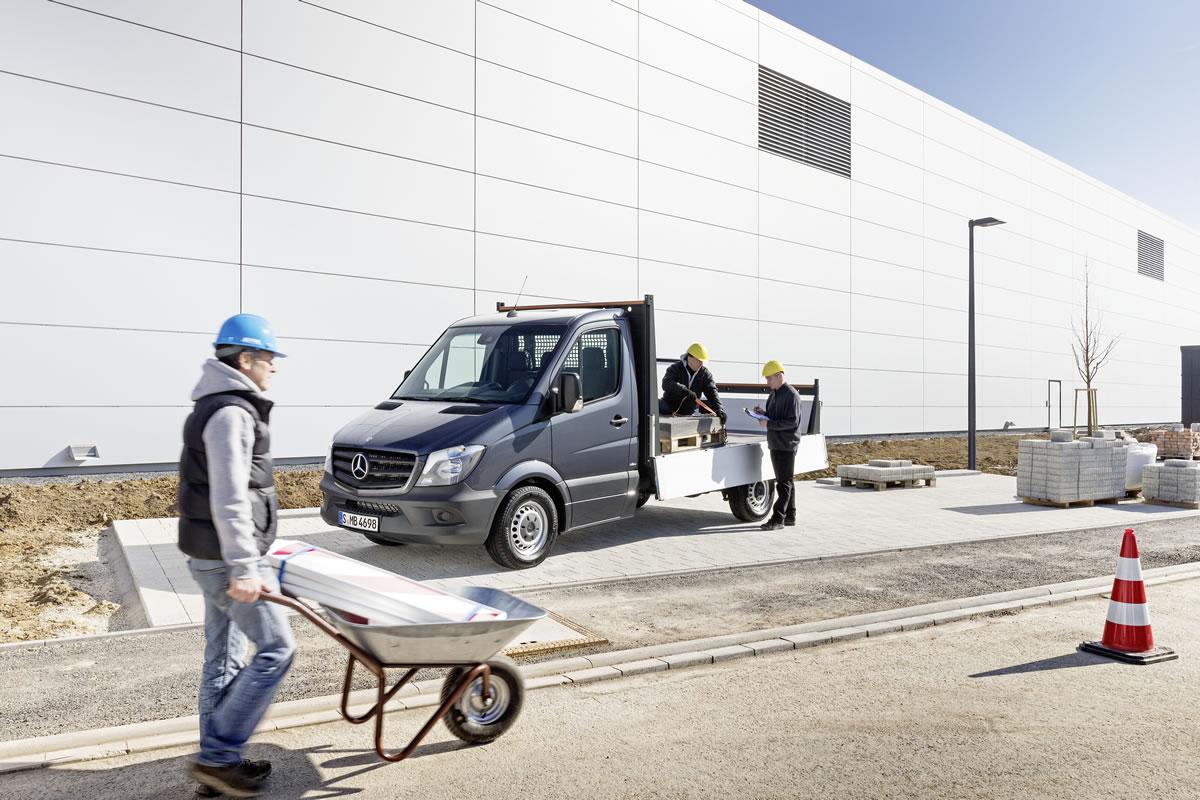 2014 Mercedes-Benz Sprinter Van construction