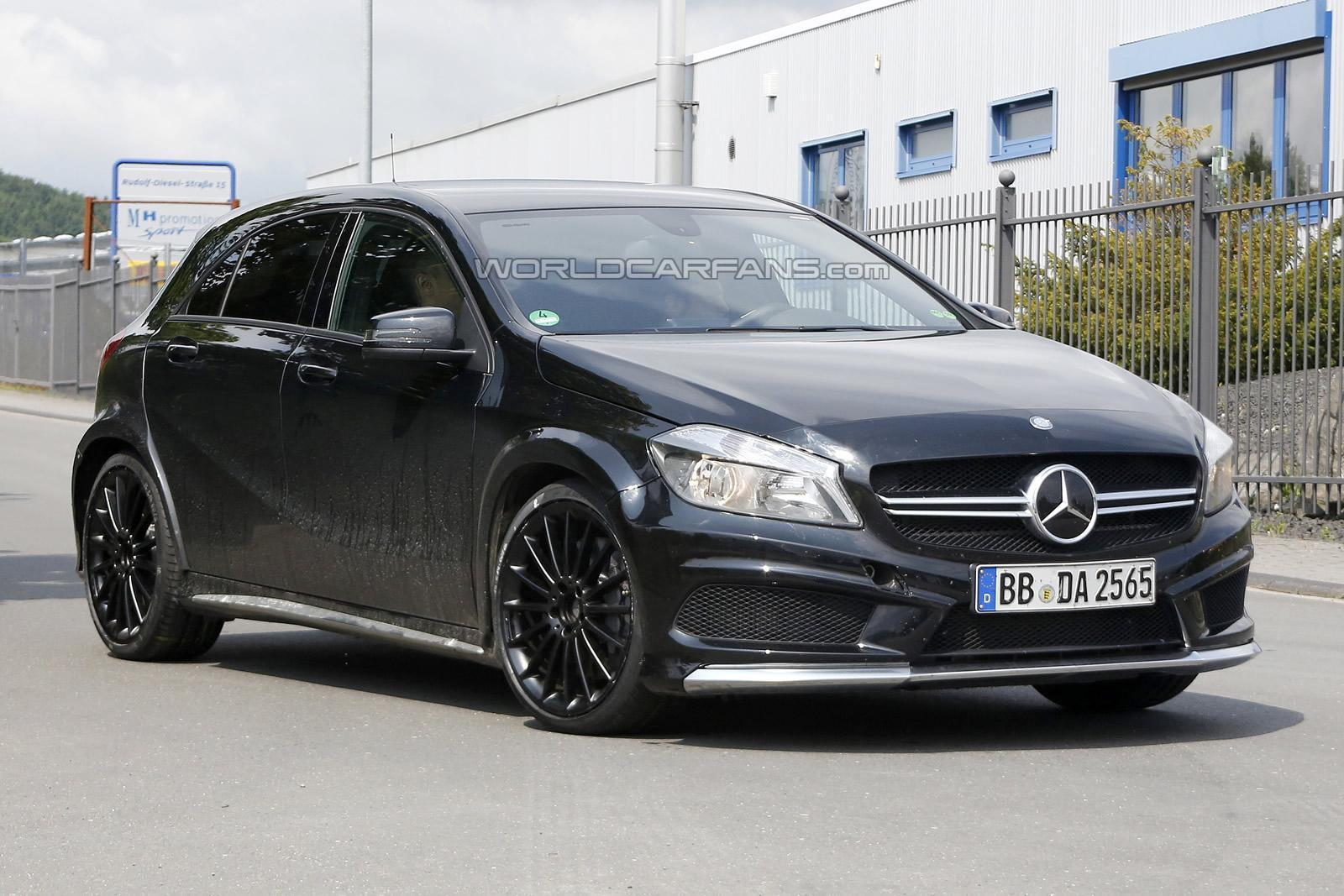 Mercedes A45 AMG Black Series