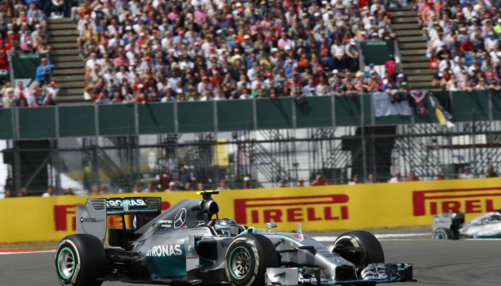 2014 British Grand Prix Win for Lewis Hamilton