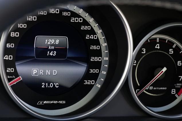2014 Mercedes E63 AMG Estate interior