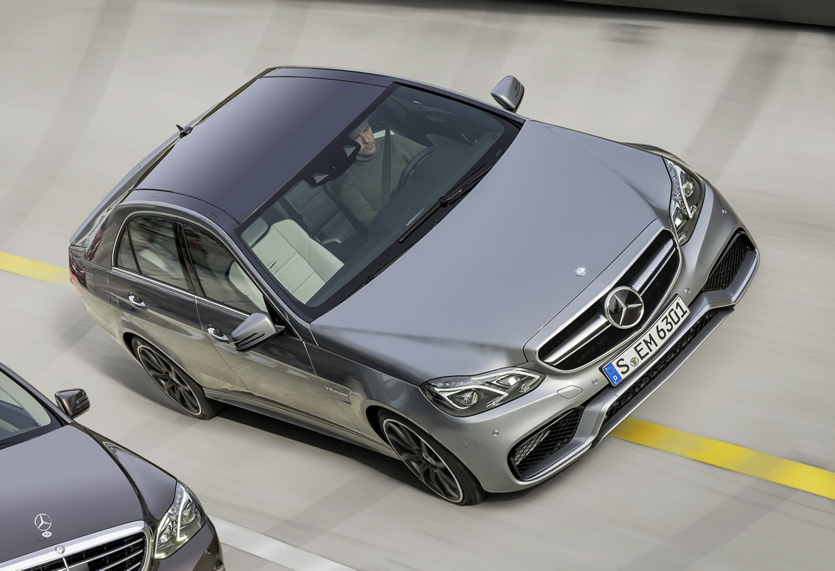 The New E63 AMG Revealed Ahead of Detroit