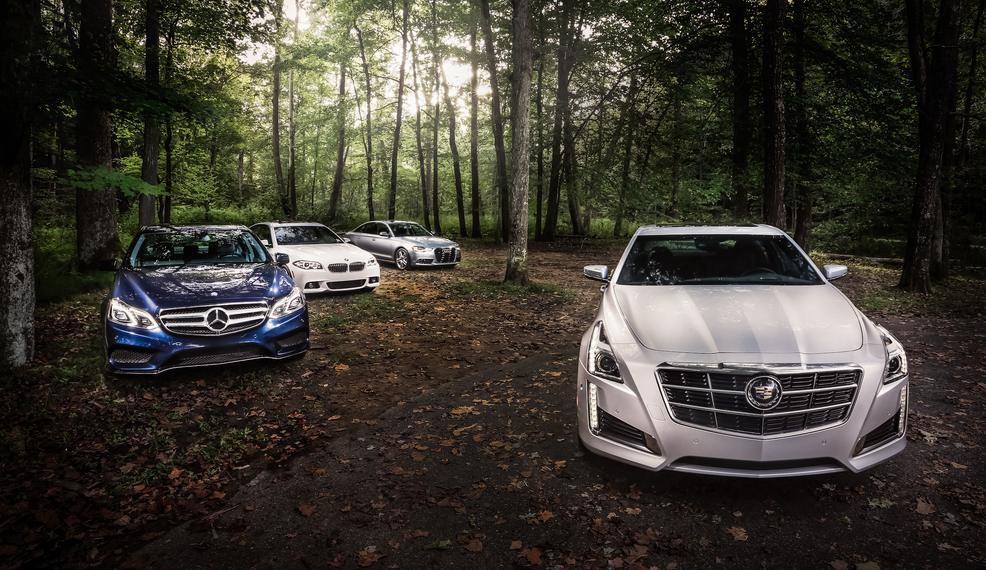 2014 Mercedes-Benz E350 Vs. Competition