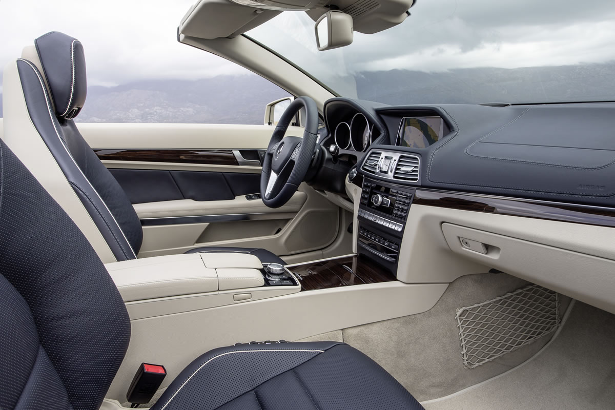 2014 Mercedes Benz E Class Coupe And Cabriolet Part Iii Interior
