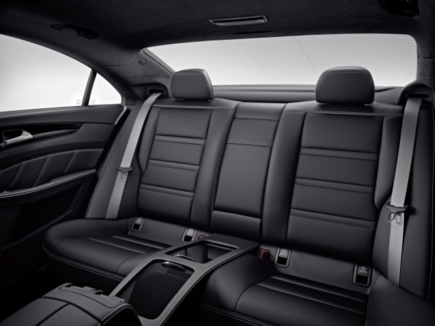 2014 CLS63 AMG S-Model 4MATIC interior backseat
