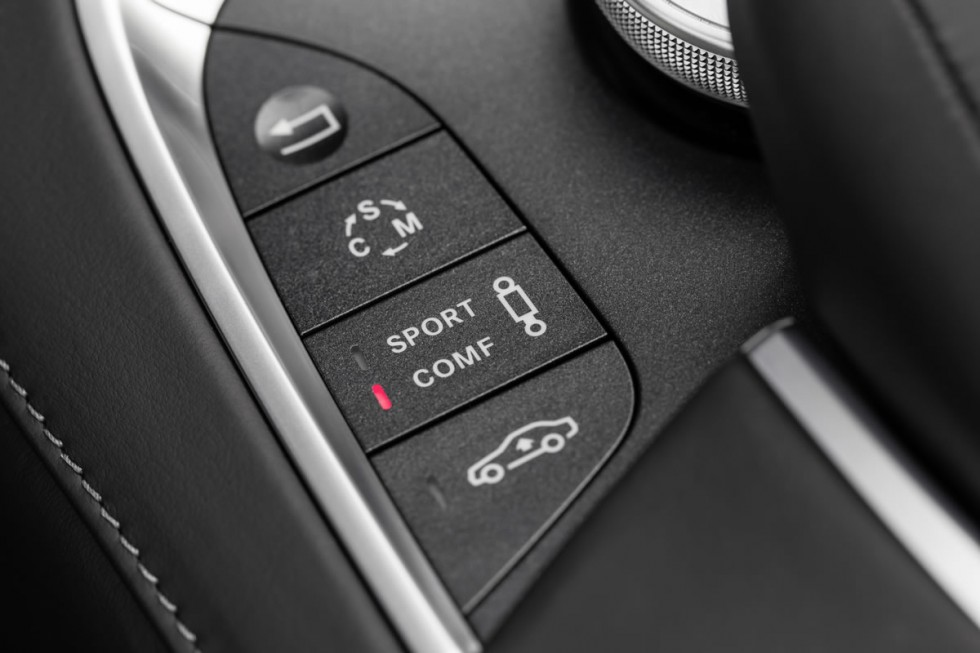 2014 Mercedes S63 AMG buttons