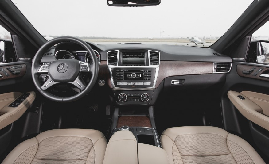 2015 Mercedes-Benz ML250 BlueTec 4MATIC Interior